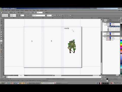 Как сделать буклет в иллюстраторе