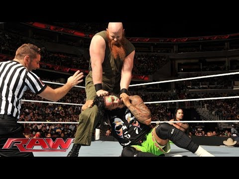 Jey Uso vs. Erick Rowan: Raw, June 23, 2014
