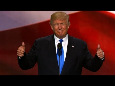 Donald Trump hits RNC stage, crowd goes wild