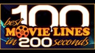 Thumb 100 frases populares de películas en 200 segundos