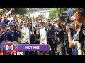 Kehebohan Pawai Obor Asian Games 2018 - Hot Kiss