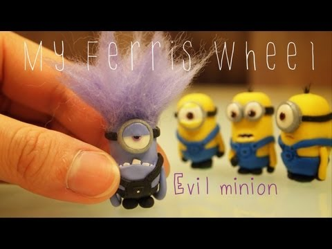 How To Make A Miniature Evil Purple Minion Out Of Polymer Clay (despicable Me 2) video