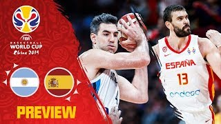 Argentina v Spain | FIBA Basketball World Cup 2019 Final Preview!