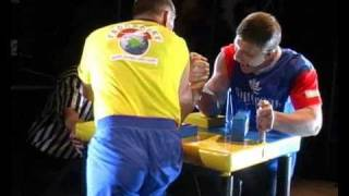 "Армфайт Цориевvs Иванов -  TV program  ""Arm wrestling - the best matches"""