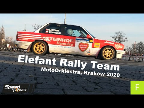 Elefant Rally Team MotoOrkiestra, Kraków 2020 Clip by Speed & Power