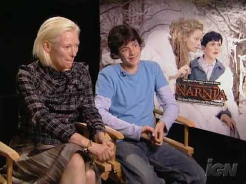 The Chronicles of Narnia - Interview with Tilda Swinton and Skandar Keynes