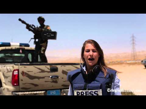Iraq crisis: on the frontline of the battle against Isis insurgents