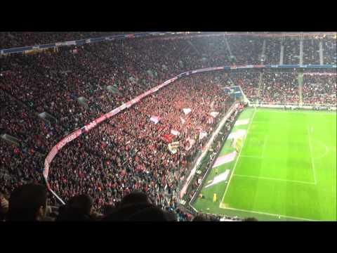FC Bayern - TSG Hoffenheim - Südkurve Allianz Arena - München - 22.11.2014