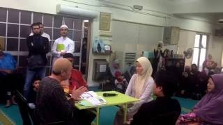 A Japanese sister reverted to islam on 28 th Aug at al-khadeem