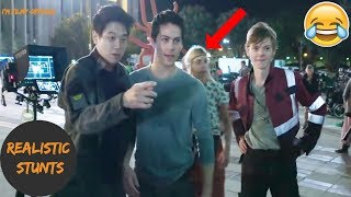 Maze Runner: The Death Cure Bloopers, B-Roll, & Behind the Scenes(BTS) - 2018