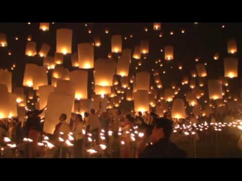 Loy Krathong in Chiang Mai -