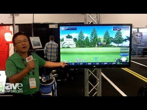 CEDIA 2015: GolfZone Demos Its GVR Golf Simulator with Increased Putting Accuracy