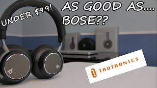 GREAT Active Noise Cancelling Headphones for under $80 | TaoTronics TT-BH046 Bluetooth Headphones