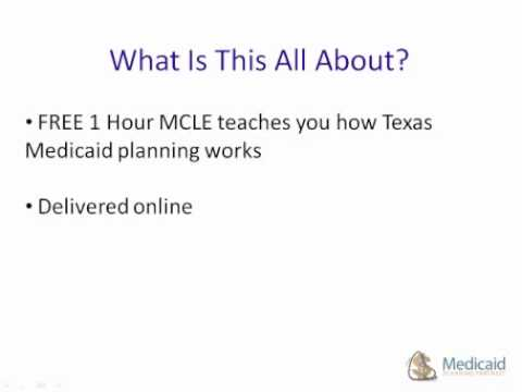 Texas Medicaid Continuing Legal Education