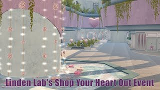 Exploring Second Life - Linden Lab's Shop Your Heart Out Event 2018