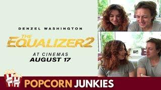 The Equalizer 2 Trailer #2 - Nadia Sawalha & Family Reaction & Review