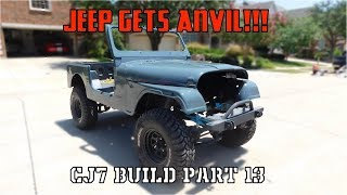 CJ Gets Paint! | Jeep CJ7 Build Part 13