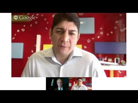 Vodacom Results 2013 - Hangout with Shameel Joosub and Lindsay Williams