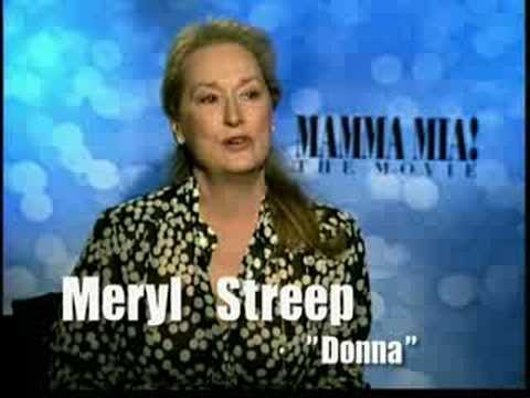 Meryl Streep interview for Mamma Mia the Movie in HD