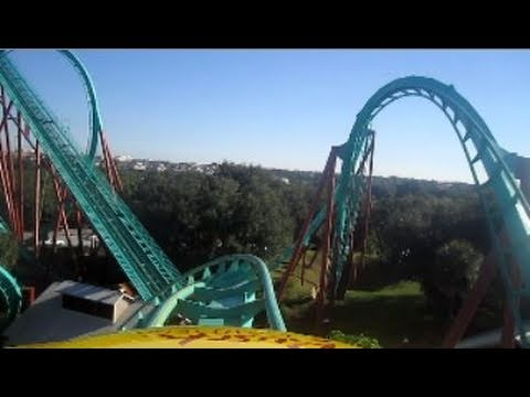 Kumba Front Seat on-ride HD POV Busch Gardens Tampa