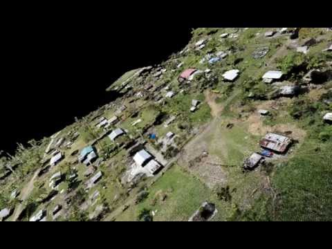 Vanuatu village - High Resolution 3D Model