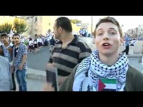 If Israel could do this to a young American Jew, imagine what Palestinians face every day [MFV !]