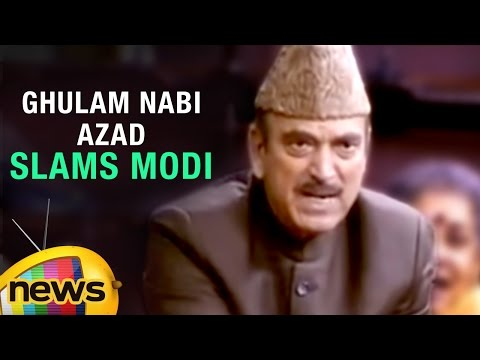 Ghulam Nabi Azad Speech In Parliament | Accuses NDA Govt Of Doublespeak And Hypocrisy | Mango News