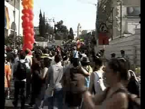 2008 Jerusalem Gay Pride Parade. On Thursday, 26 June, some 3000 people ...