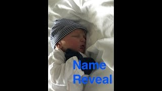 BABY BOY NAME REVEAL
