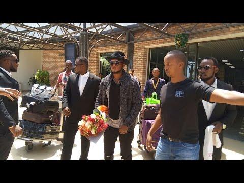 RWANDA MUSIC STAR THE BEN ARRIVES IN KIGALI FOR NEW YEAR'S CONCERT