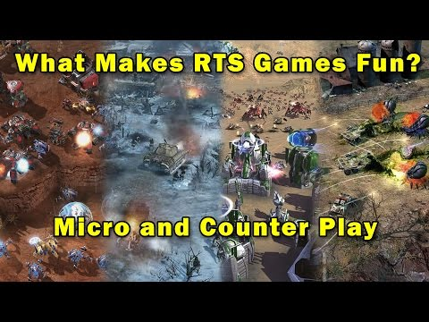 What Makes RTS Games Fun: Micro and Counter Play