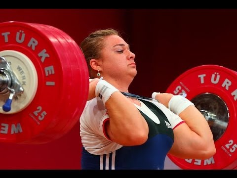 UNBELIVABLE !!!  Tatyana Kashirina New World Record 190 kg / 419 lbs Clean & Jerk, Poland 2013 Image 1