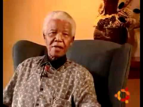 Nelson Mandela fala sobre o UBUNTU - Legendado PT