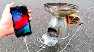 This Stove Will Charge Your Phone!
