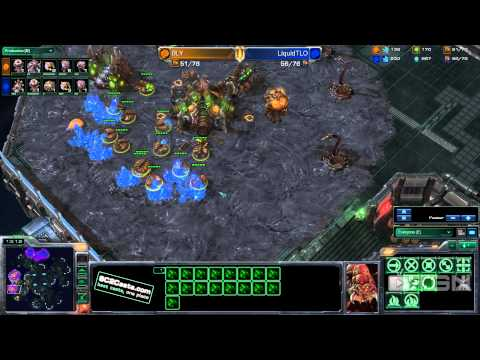  StarCraft 2 - Bly vs TLO (Game 2) - Twitch.tv Invitational - TGN