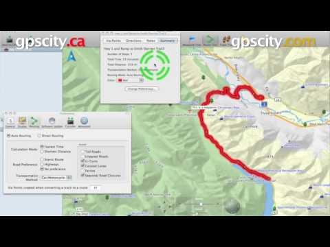 Garmin Basecamp Software: Create A Route @ gpscity.com