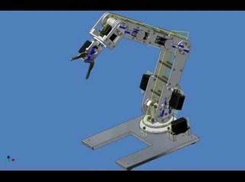 Mechanical Grippers in Robots Articulate Robotic Arm Gripper