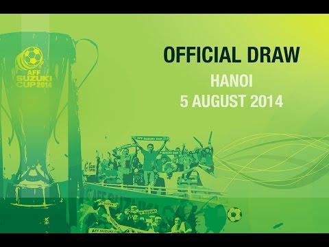 Official Draw: AFF Suzuki Cup 2014