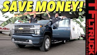 Here's How to Save Big When Towing with a New 2020 Chevy Silverado HD Diesel!