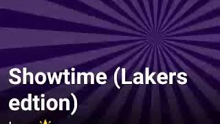 Showtime (Lakers edtion)