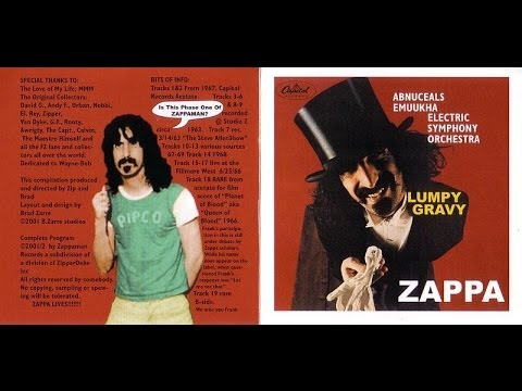 Frank Zappa - Lumpy Gravy I
