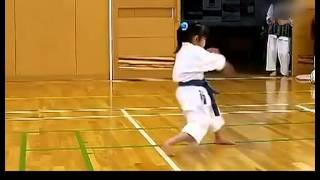 5-Year-Old Girl Karate Practice Super Cute