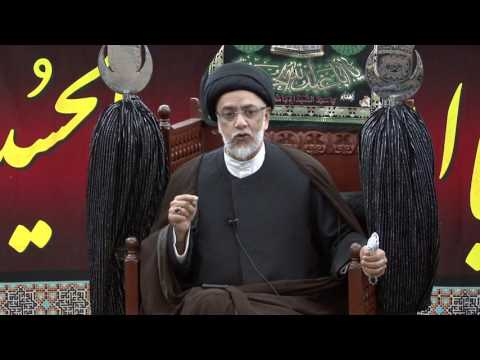 4th Night Of Muharram - Syed Mohammed Naqvi - 4th Muharram 1438