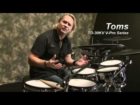 TD-30KV V-Drums Sound Demo, Expressiveness Performed by Dirk Brand