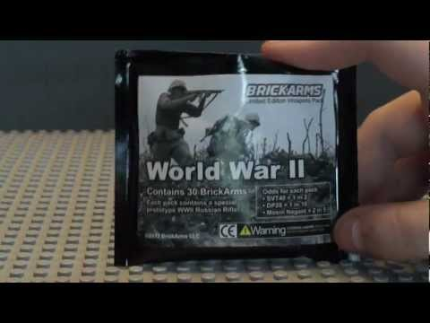 Brickarms WWII Pack V3 With Russian Prototype Review