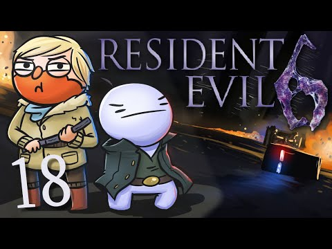 Resident Evil 6 /w Cry! [Part 18] - Head Over Heels