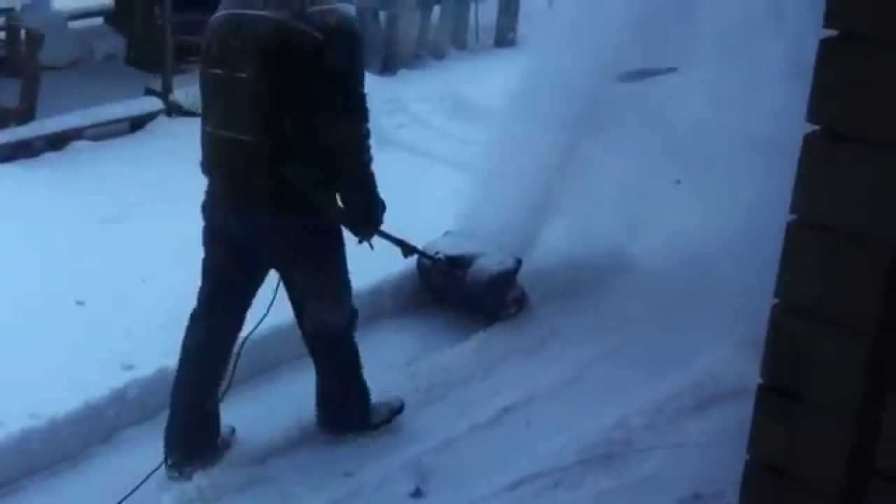 Лопата снегоуборочная электрическая своими руками 2