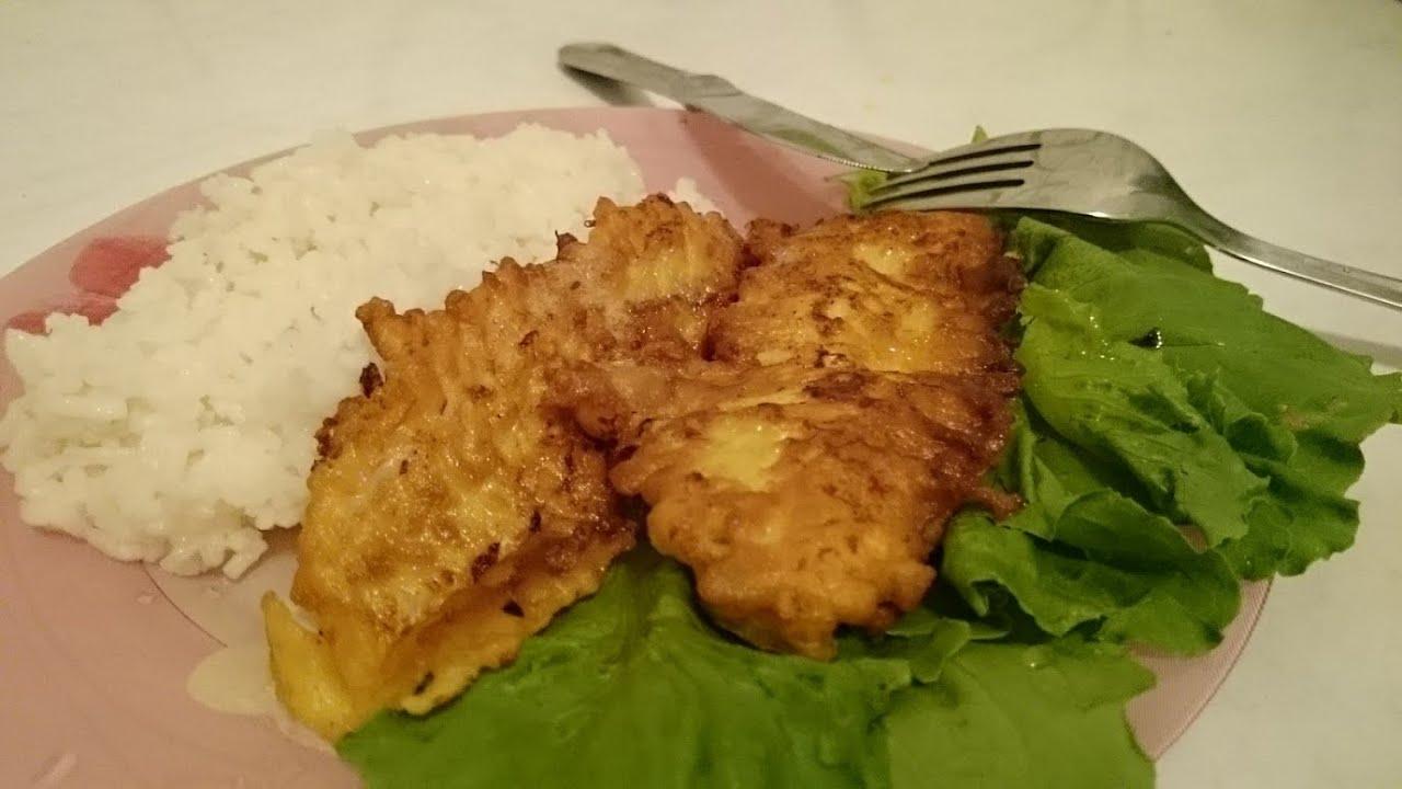 Рецепт рыбки в кляре