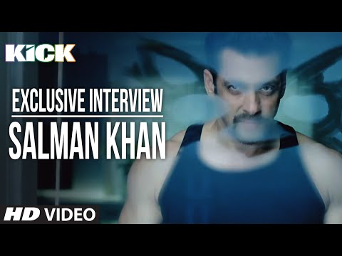 Exclusive: Salman Khan Interview | Kick | Jacqueline Fernandez