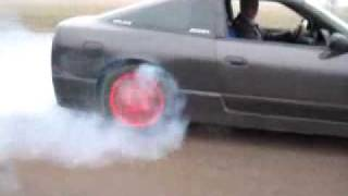 200SX S13  Burnout 4 декабря 2009